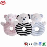Soft Teddy Bear Plush Rattle Funny Sound Baby Toy
