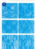De katoenen Stof van het Kant voor Kleding/Kledingstuk/Schoenen/Zak/Geval M276 (Breedte: 8cm)
