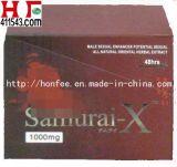 Samoerai-x de Mannelijke Seksuele Pil van de Verhoging van Prestaties