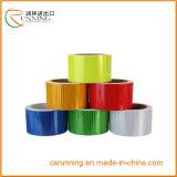 PVC純粋なカラー安全注意の反射粘着テープ(EN471)