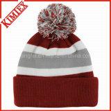 Шлем дешевой изготовленный на заказ зимы промотирования теплый связанный