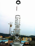 Recycler 샤워 Perc 도매 암살자 유리제 연기가 나는 수관
