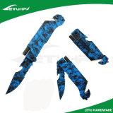 Multi Funktions-Überlebens-Rettungs-faltendes Messer mit Feuer-Starter