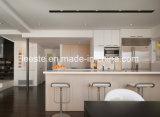 Superfície De Superfície De Superfície Carrara De Superfície De Cozinha De Marmoreado Quente