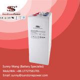 Bateria acidificada ao chumbo selada 2V 2000ah de Opzv da bateria de armazenamento da potência solar