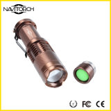 Lúmens do diodo emissor de luz do CREE XP-E 240 Waterproof a lanterna elétrica do diodo emissor de luz (NK-628)