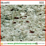 壁または床タイルのための自然なインドの白いギャラクシー花こう岩