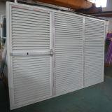 Дверь Casement штарки Coated алюминиевого профиля порошка высокого качества Kz354 фикчированная