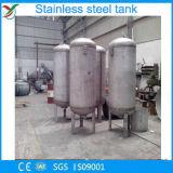 Vertikaler Stahltank mit SS 304