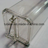 Clear Packaging Square Plastic Tube