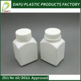 HDPE 100ml Quadrat-Medizin-Plastikflasche mit Kind-Beweis-Schutzkappe
