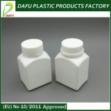 бутылка микстуры квадрата PE 100ml пластичная с крышкой доказательства ребенка