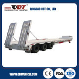 China Factory 3 Axles 30t-46t Hydraulic Low Bed Semi Trailer