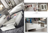 Sofá de tecido mais novo com moldura de madeira para sala de estar (LFS-007)