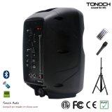 Profesional 8 pulgadas de altavoz portable con la luz del RGB del programa