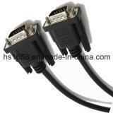 최신 판매 15 Pin 플러그 VGA M \ M Mointor 확장되는 케이블