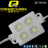Módulo impermeable de la muestra del brillo 5050 LED de DC12V 0.96W 4chips ultra