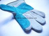 Перчатки оптовой кожаный безопасности перчатки работы кожаный работая