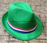 Sombreros promocionales del sombrero de ala de la paja de Oliverio con diversos colores