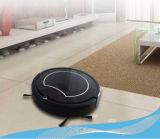 Décapant automatique de plancher de robot de vide pour le plancher de bois dur et les tapis durs