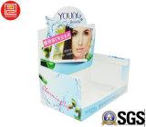 Caixa de indicador/caixa de empacotamento cosmética/caixa da mostra