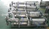 Semi-Auto Ink Filling Machine mit Auto dem Mit einer Kappe bedecken-Sealing-Labeling