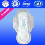 Matière première de la vente 2016 de serviette hygiénique remplaçable chaude de garniture sanitaire