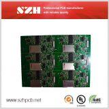 1oz 1.6mm rote alleinigere gedrucktes Leiterplatte der Schablonen-PCBA