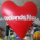 Украшение венчания воздушного шара гелия воздушного шара формы сердца раздувное
