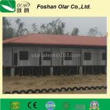 Зеленая доска перегородки цемента волокна охраны окружающей среды