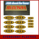 qualité Double Color Plastic ABS Sheet pour le laser Carving