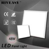 luz do diodo emissor de luz de Downlight da luz de painel do diodo emissor de luz 48W com luz de painel Nano de LGP 80lm/W Ra>80