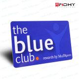 Carte en plastique imprimable de membre de PVC d'IDENTIFICATION RF de Monza 6