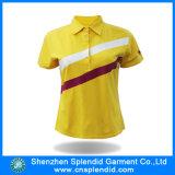 싸게 중국 공급자 도매 보통 색깔 여자 폴로 셔츠