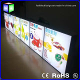 "20 "" X30 "" Advertizing Light Box con Snap Frame LED Display Board"