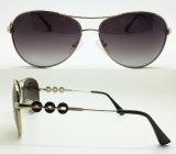 Nuevas gafas de sol del metal para las mujeres