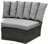 Jogo secional do sofá da mobília do jardim do Rattan do PE