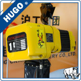 Gru elettrica di PDH gru elettrica del carrello del sacchetto della catena da 1 tonnellata con il motore