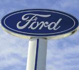 Sinal do logotipo do carro do sinal do logotipo do chapeamento metálico quente ao ar livre luxuoso da venda 2016 auto