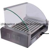 Caldo-Vendendo il rullo dell'hot dog dei 9 rulli con il coperchio (ET-R2-9)