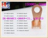 Manufatura do terminal de cobre da abertura (HS-OT-0012)