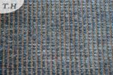 2015 Stof van de Bank van de Jacquard van de Polyester de Garen Geverfte in Rode Kleur