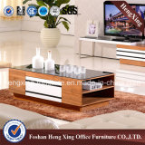 table basse en bois de thé de salle de séjour de 1.2m (HX-6M345)