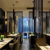 304 201 bronze Perforated Sheet Stainless Steel Screen para o quarto Divider Decorating do restaurante