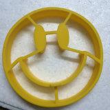 Boucle approuvée par le FDA de crêpe d'oeufs de silicones de forme de sourire