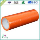 Cinta adhesiva anaranjada atractiva del embalaje del color BOPP con buen Stickness