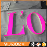 Segni acrilici della lettera della Manica del migliore metallo LED