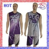 熱い習慣によって昇華させる勾配のバスケットボールのユニフォーム