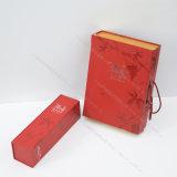 جديدة تصميم خمر هبة/ورقة شراب صندوق غلاف صلب طبق صندوق