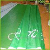 Bandera publicitaria de encargo del acoplamiento de la alta calidad llena de la impresión